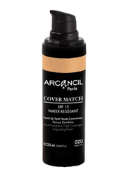 Arcancil Fond De Teint Cover Match Liquid Foundation, 20 Beige Dore