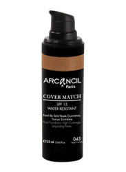 Arcancil Cover Match Fluid Foundation, 45 Beige Cannelle