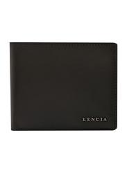 Lencia Leather Bi-Fold Wallet for Men, LMW-16001, Oak Brown