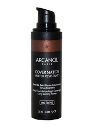 Arcancil Fond De Teint Cover Match Liquid Foundation, 080 Ebene, Brown