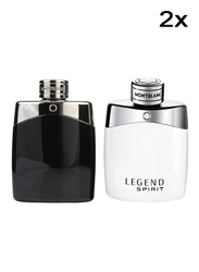 Mont Blanc Explorer 2 Piece Set for Men, 2 x 100ml EDP