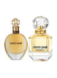 Roberto Cavalli Paradiso 2 Piece Perfume Set for Women, 75ml EDP, Paradiso 75ml EDP