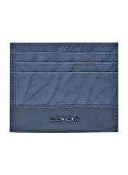 Lencia Leather Card Holder for Men, LMWC-15991, Navy Blue