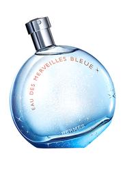 Hermes Eau Des Merveilles Bleue 100ml EDT for Women