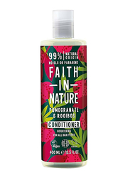Faith in Nature Pomegranate & Rooibos Conditioner for All Hair Types, 400ml