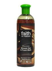 Faith in Nature Chocolate Shower Gel, 400ml