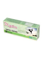 Maxim Organic Cotton Non Applicator Tampons, Regular, 20 Pieces