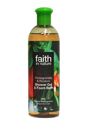 Faith in Nature Pomegranate & Rooibos Shower Gel, 400ml