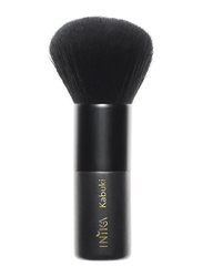 Inika Vegan Kabuki Brush, Black
