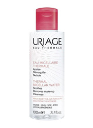 Uriage Eau Micellaire Thermale Pink Sensitive Skin Cleanser, 100ml