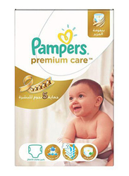 Pampers Premium Care Diapers, Size 3, Midi, 4-9 kg, 120 Count