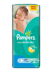 Pampers Active Baby Dry Diapers, Size 6, 15+ kg, 48 Count