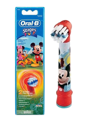 Braun Oral-B EB 10-2 Mickey Mouse Stages Power Kid's Replacement Brush Heads for Kids
