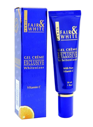 Fair & White Exclusive Gel Cream with Vitamin C, 30ml