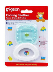 Pigeon Cooling Square Teether, Blue