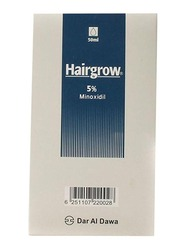 Dar Al Dawa Hairgrow 5% Minoxidil Hair Loss Product, 50ml