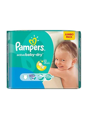 Pampers Active Baby Dry Diapers, Size 6, 15+ Kg, 36 Count
