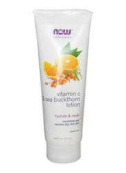 Now Solutions Body Lotion Vitamin C and Sea Buckthorn, 237ml