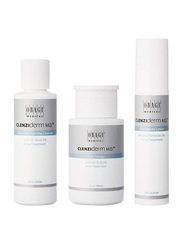 Obagi Clenziderm M.D. 3 Pieces Acne Therapeutic System Set, 118ml Foaming Cleanser, 148ml Pore Therapy, 47ml Therapeutic Lotion