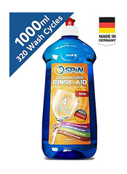 Spin Rinse Aid Dishwasher Liquid, 1000ml