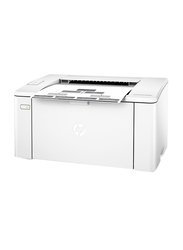 Hp Laserjet Pro M102A Printer, White