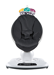 4moms MamaRoo 4.0 Baby Bouncer Swing, with Music, Black Classic