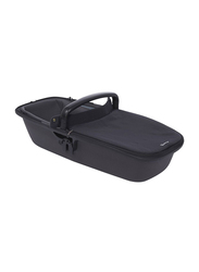 Quinny Zap LUX Carrycot, Black On Graphite