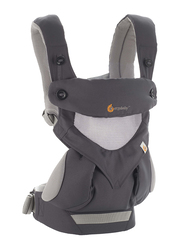 Ergobaby 360 Cool Air Mesh Baby Carrier, Carbon Grey