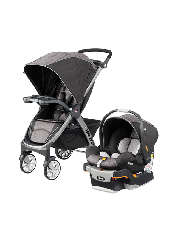 Chicco Bravo Single Stroller with Child Tray, Meridian ...
