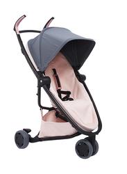 Quinny Zapp Flex Single Stroller, Graphite on Blush, Peach