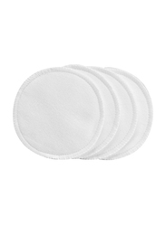 Dr. Brown's Washable Breast Pad, Pack of 4, White