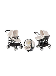 Chicco Trio My City Single Stroller, Dune, Off White