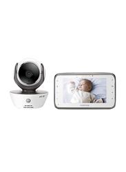 Motorola 4.3-Inch Digital Video Monitor with Wi-Fi, Black/White