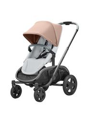 Quinny Hubb Single Stroller, Cork on Grey