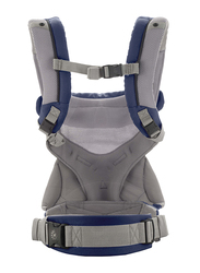 Ergobaby 360 Cool Air Mesh Baby Carrier, French Blue