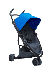 Quinny Zapp Flex Single Stroller, Blue on Graphite