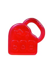 Pigeon Cooling Teether, Piano, Red
