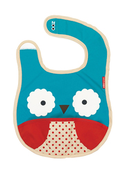 Skiphop Zoo Bib, Owl, Light Blue