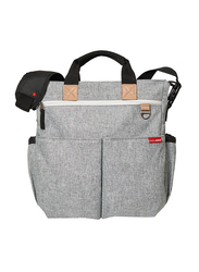 Skip Hop Duo Signature Bag, Grey Melange