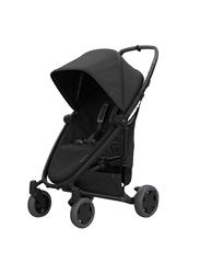 Quinny Zapp Flex Plus Single Stroller, Black on Black