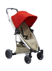 Quinny Zapp Flex Plus Single Stroller, Red on Sand