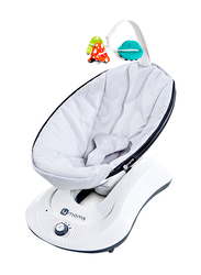 4moms RockaRoo Baby Bouncer Swing, with Music, Grey Classic