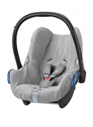 Maxi-Cosi CabrioFix Summer Cover Car Seat, Cool Grey