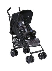 Chicco London Up Single Stroller with Bumper Bar, Matrix, Black