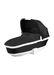 Quinny Foldable Baby Carrycot, Black Irony