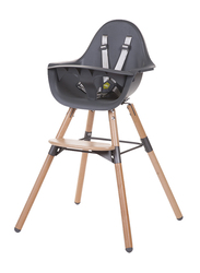 Childhome Evolu 2 Chair 2-in-1 with Bumper, Anthracite