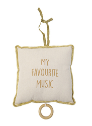 Childhome Music Pillow Box, Gold