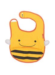 Skiphop Zoo Bib, Bee, Yellow