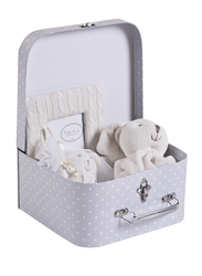 Childhome Suitcase Gift Box, Grey