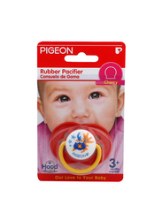 Pigeon Rubber Cherry Pacifier, Red